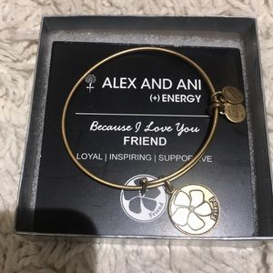 Alex & Ani Friend bracelet